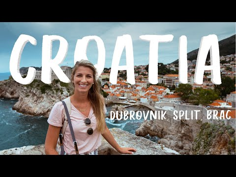 FIRST IMPRESSIONS OF CROATIA  🇭🇷  (what to eat, see, & do in Dubrovnik, Split, and Brac)