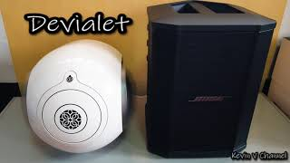 Devialet Phantom Silver vs Bose S1 Pro | SOUND TEST NO. 17