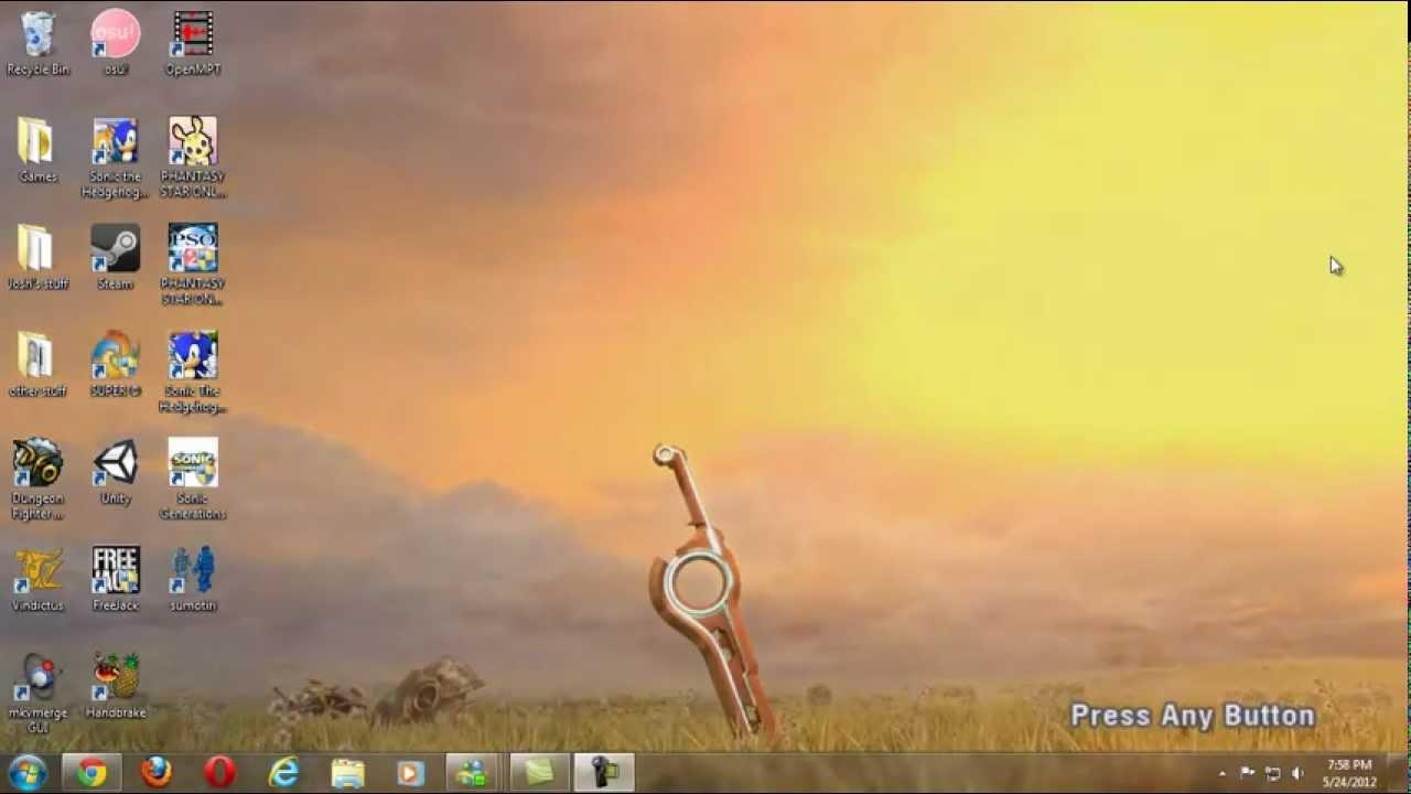 Dreamscene xenoblade chronicles title screen 1080p youtube - Title wallpaper ...