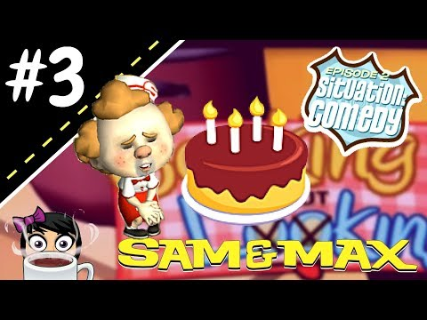 BAKING WHIZZER A BIRTHDAY CAKE!! - Sam & Max S1E2 {Situation Comedy} #3