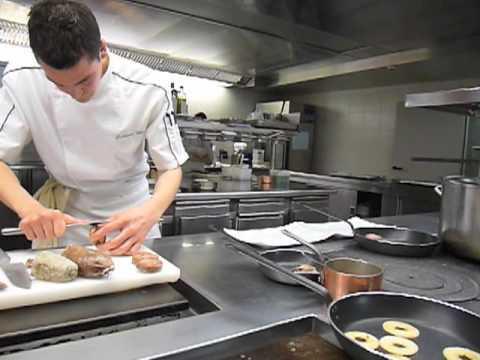 Le chef reynald donet en cuisine hotellerie beau rivage for Au beau rivage la cuisine