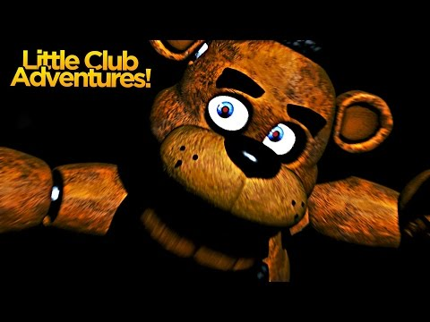 Minecraft Little club Adventures - FIVE NIGHTS AT FREDDYS NIGHT  1