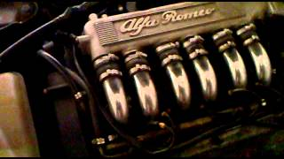 alfa romeo 155 v6 busso sound engine