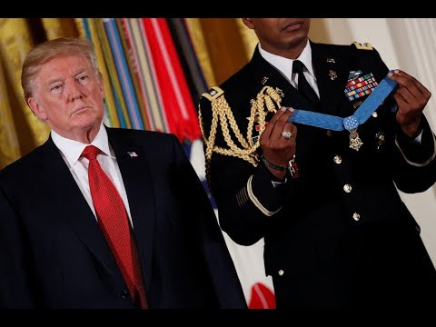 WATCH: President Trump awards Medal of Honor in ceremony at White House