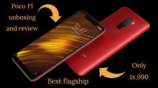 XIAOMI POCO F1 UNBOXING & REVIEW - ROSSO RED - DECEMBER 2018 - BEST PHONE UNDER 20K