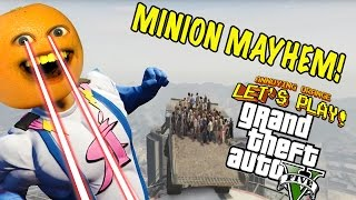 Annoying Orange Plays - GTA Minion Mayhem!