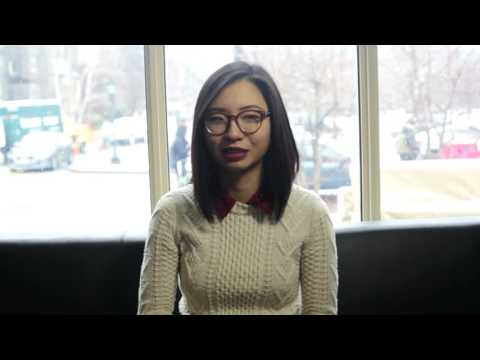 Undergrad researcher Joanna Huang