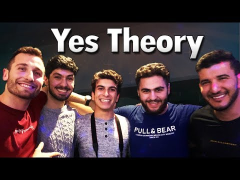 MEETING YES THEORY FOR THE FIRST TIME IN COPENHAGEN - YES THEORY EVENT