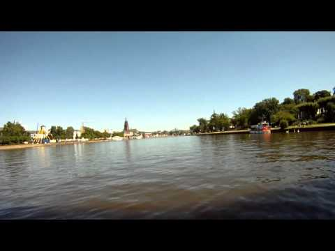 Frankfurt Main Sportboot Rundfahrt