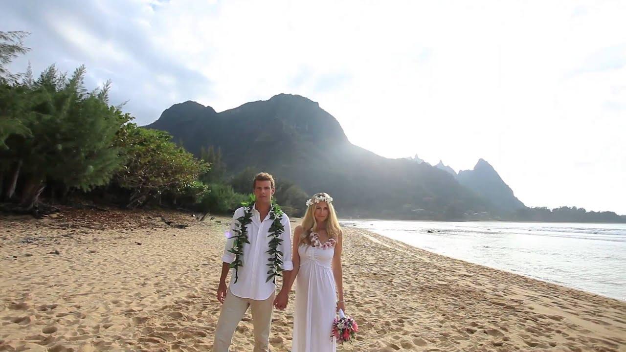 sara blake tunnels beach wedding kauai wedding video