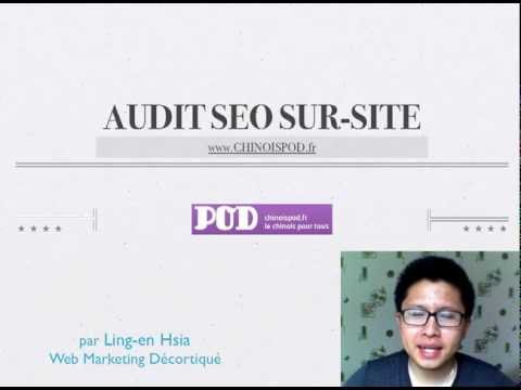 Audit SEO sur-site de Chinoispod.fr