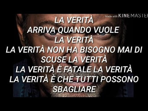Vasco Rossi - La Verità (Testo con Audio e Lyrics Video)