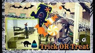 Happy Halloween🎃 Trick or Treat 🍬Fernbank VLOG Dinosaurs with Sweeite Fella Aleks