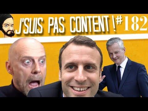 J'SUIS PAS CONTENT ! #182 : Traverse la rue pour du taff & Bruno Lemaire est une tache !