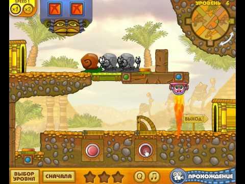 Мультик Улитка Боб 2 Прохождение игри - все уровни ( Snail Bob 2)