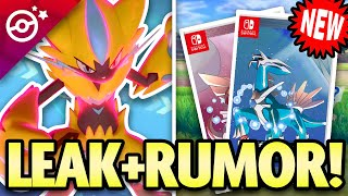 NEW Pokemon LEAKS and RUMORS! Diamond and Pearl Remakes, Unite and Snap!