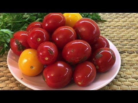 Как малосолить помидоры в кастрюле