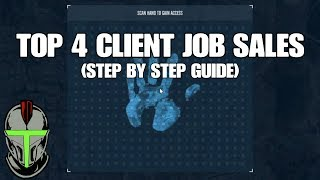 GTA ONLINE ALL CLIENT JOB SALE MISSIONS (STEP BY STEP GUIDE)