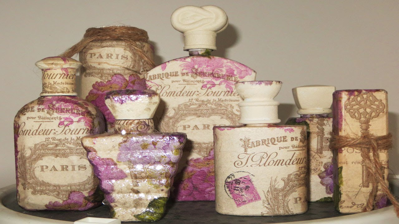 How to make decoupage bottles with their own hands. Decoupage bottles napkins: master class 94