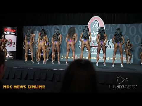 2019 Olympia Bikini Prejudging