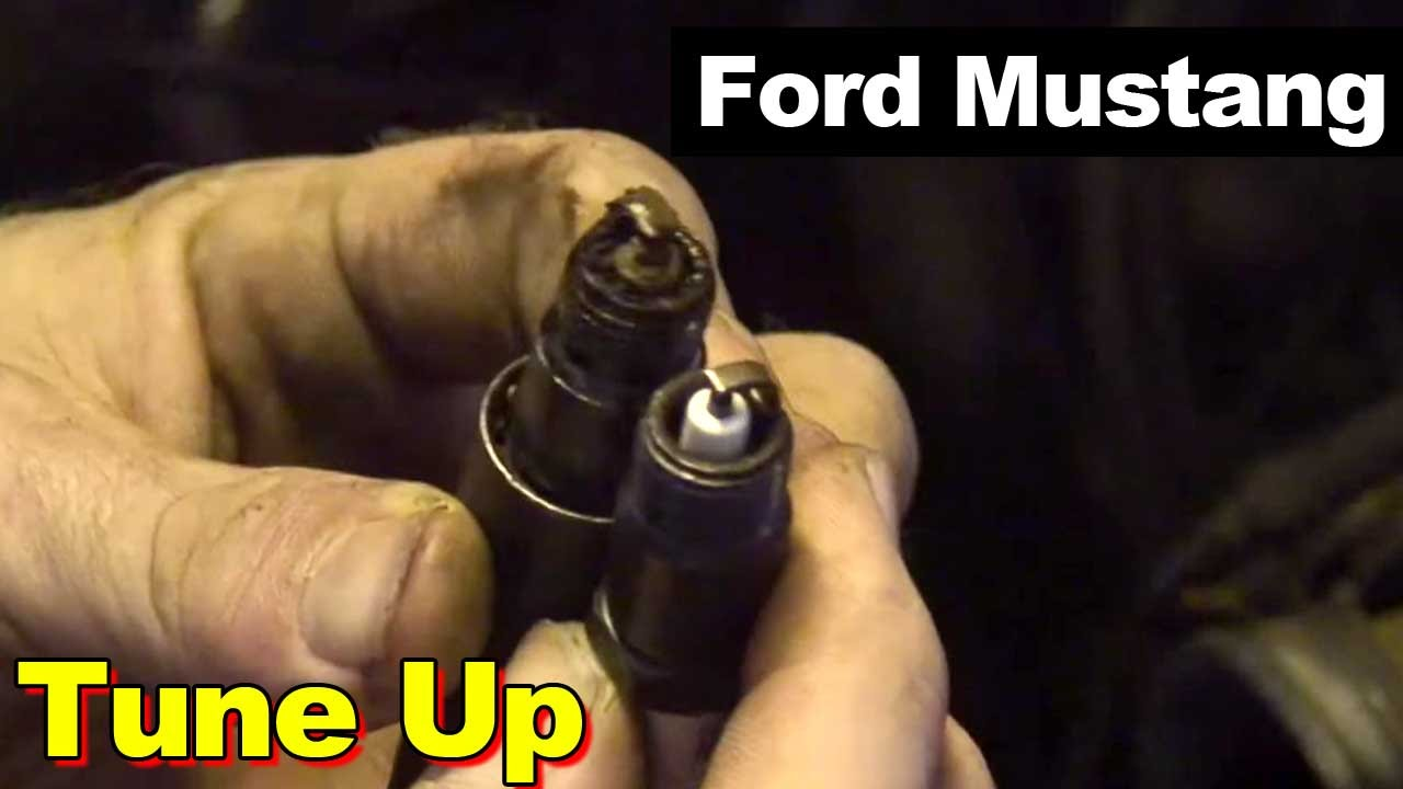 1989 Ford Mustang Tune Up Spark Plugs And Wires Youtube 1988 Wiring