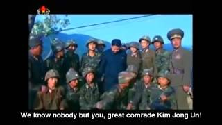 dprk song we know nobody but you