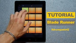 How to play Blade Runner - Dubstep Drum Pads 24 Tutorial