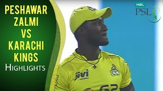 vuclip PSL 2017 Match 13: Peshawar Zalmi vs Karachi Kings Highlights