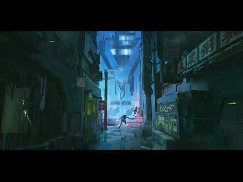 Cyberpunk Cityscape - 'Back Alleys, Black Markets' -  Ambient ASMR