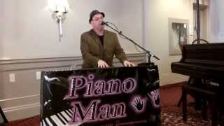 Mike Stoneman, the Piano Playing DJ, sings The Lion Sleeps Tonight