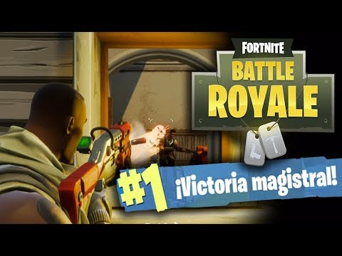 FORTNITE BATTLE ROYALE - VICTORIA EPICA EN SQUAD! - GAMEPLAY ESPAÑOL