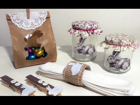 4 idee per la pasqua fai da te easter diy youtube for Bricolage fai da te idee