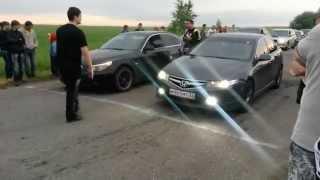 Accord 7 2.4 AT & BMW 525 AT