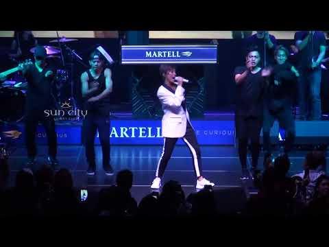 Agnez MO - Muda [Live] Martell Event at Sun City Jakarta