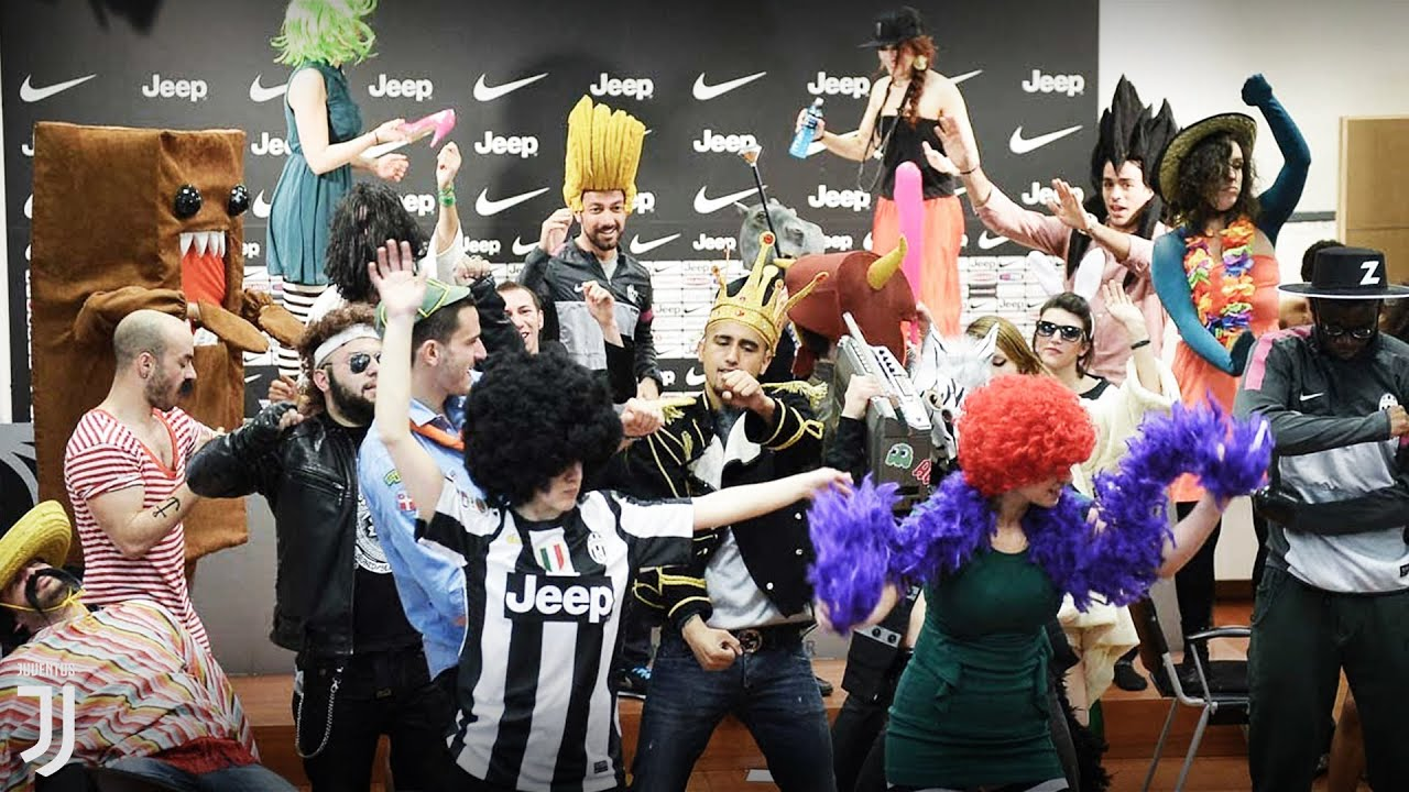 HARLEM SHAKE Juventus Football Club - YouTube