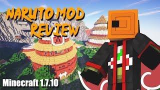 Naruto mod Minecraft review 1.7.10