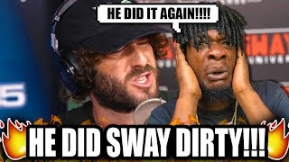 Lil Dicky Freestyle on Sway In The Morning | SWAY'S UNIVERSE (REACTION!)