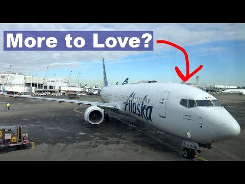 Alaska Airlines First Class - Seattle to Washington, DC