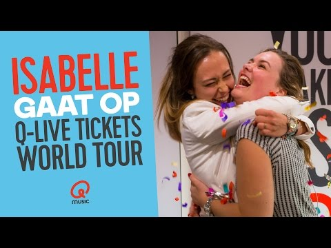 ISABELLE WINT Q-LIVE TICKETS WORLD TOUR 2017 // Qmusic