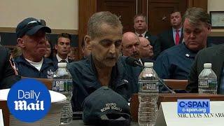 9/11 first responder Luis Alvarez gives emotional testimony