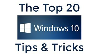 Top 20 Tip dan Trik Windows 10