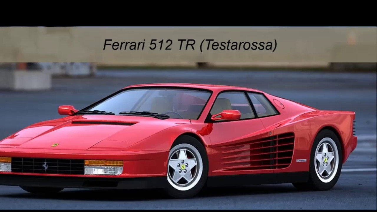 Ferrari F512 Tr Testarossa Youtube