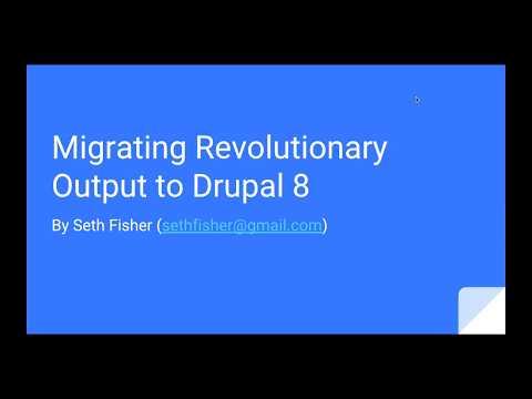 Migrating Revolutionary Output To Drupal 8 (Socialism & Orange Is The New Black)