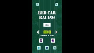 Red Car Racing Video Demo - Unity 2017 Android Game