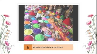 Culture, Customs and traditions of India