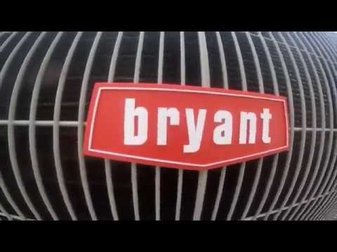 Brand New 2016 Bryant 3.5 ton Central Air Conditioner Running!