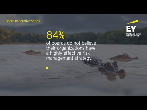EY Global Board Risk Survey reveals boards need to take action to optimize risk oversight