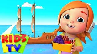 Песня пиратов Стихи для детей дошкольные видео Kids Tv Russia Детские стишки