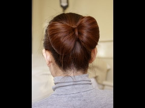 Hair Bow Tutorial for Long Hair