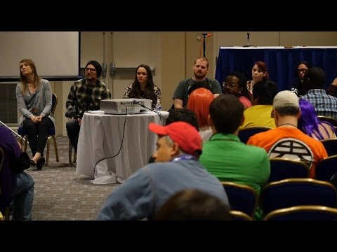 Anime USA 2016 - Funimation Broadcast Dub 101 Panel (last half only)